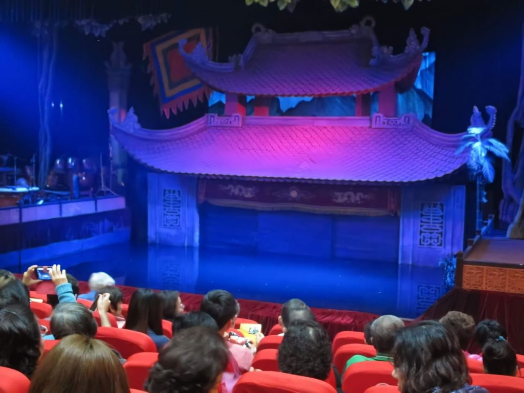 Cómo es el teatro de marionetas de agua