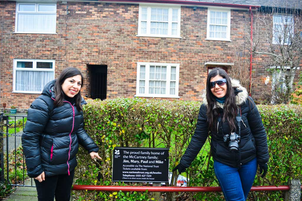Paul McCartney Home, Liverpool