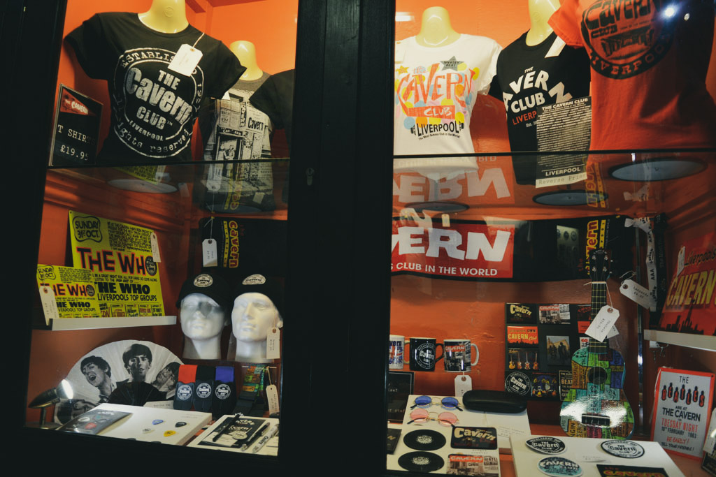 The Cavern Club Merchandiding