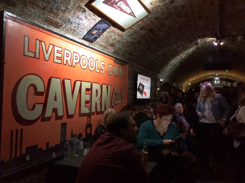 The Cavern Club por dentro