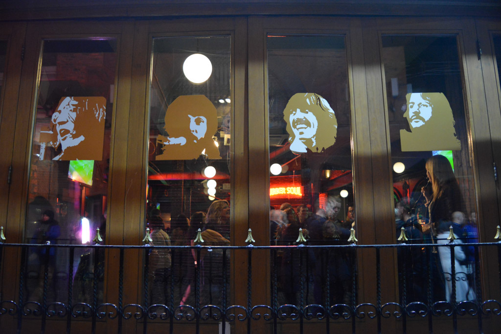 Bares de Mathew Street en Liverpool