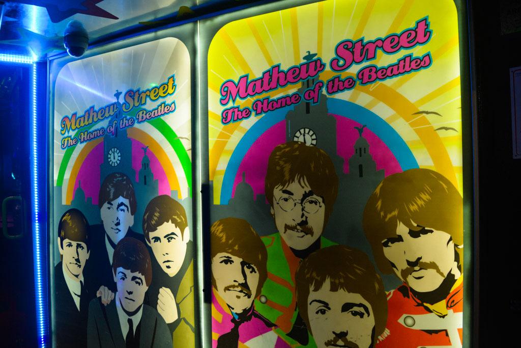 Beatle Bar, Liverpool, PARTE DEL CIRCUITO TEMÁTICO DE Los Beatles