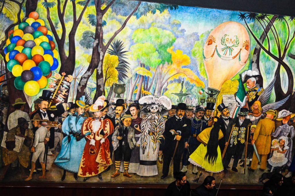 MUSEO MURAL DIEGO RIVERA EN DF
