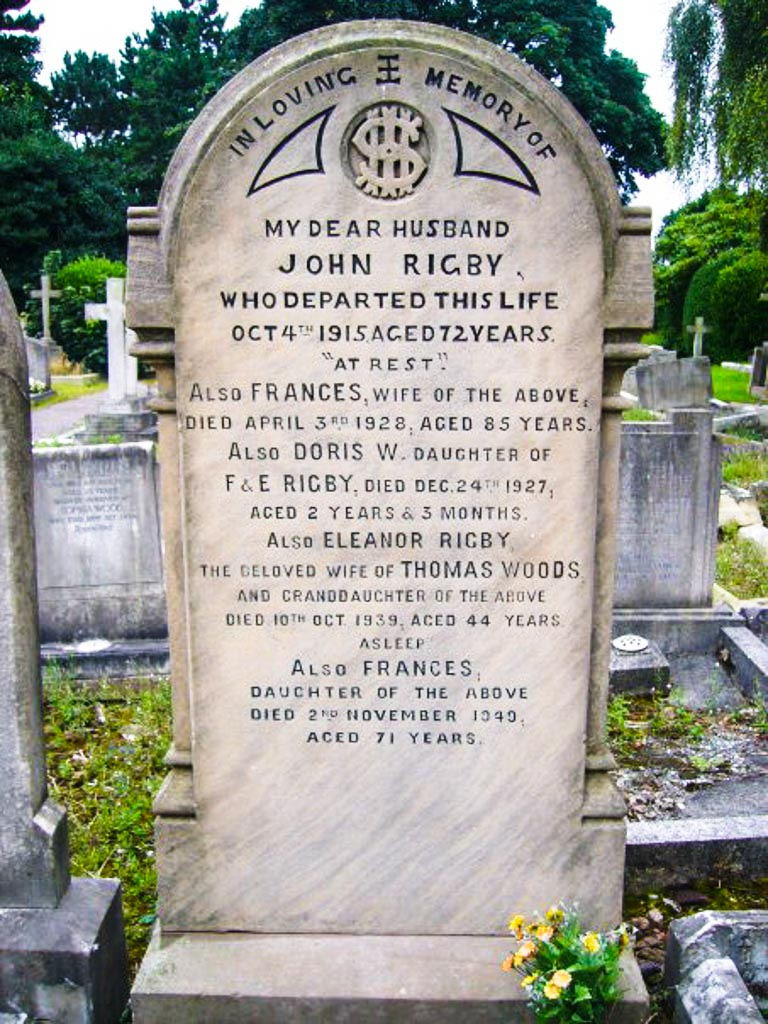 Eleanor Rigby Tomb, Liverpool