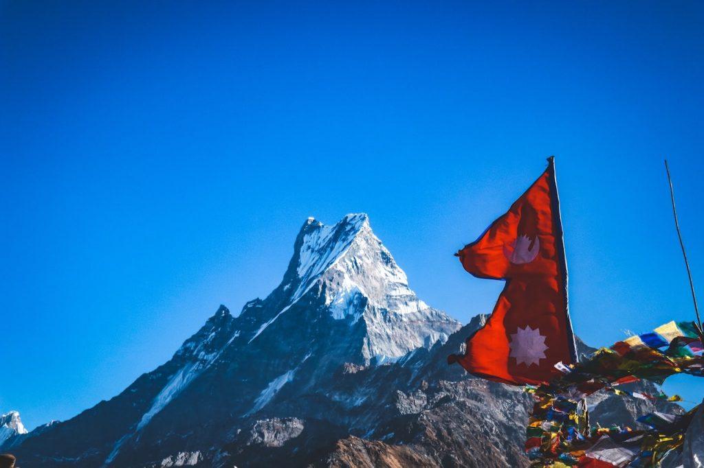 La singular bandera Nepalí