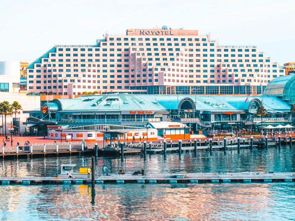 De visita por el Darling Harbour