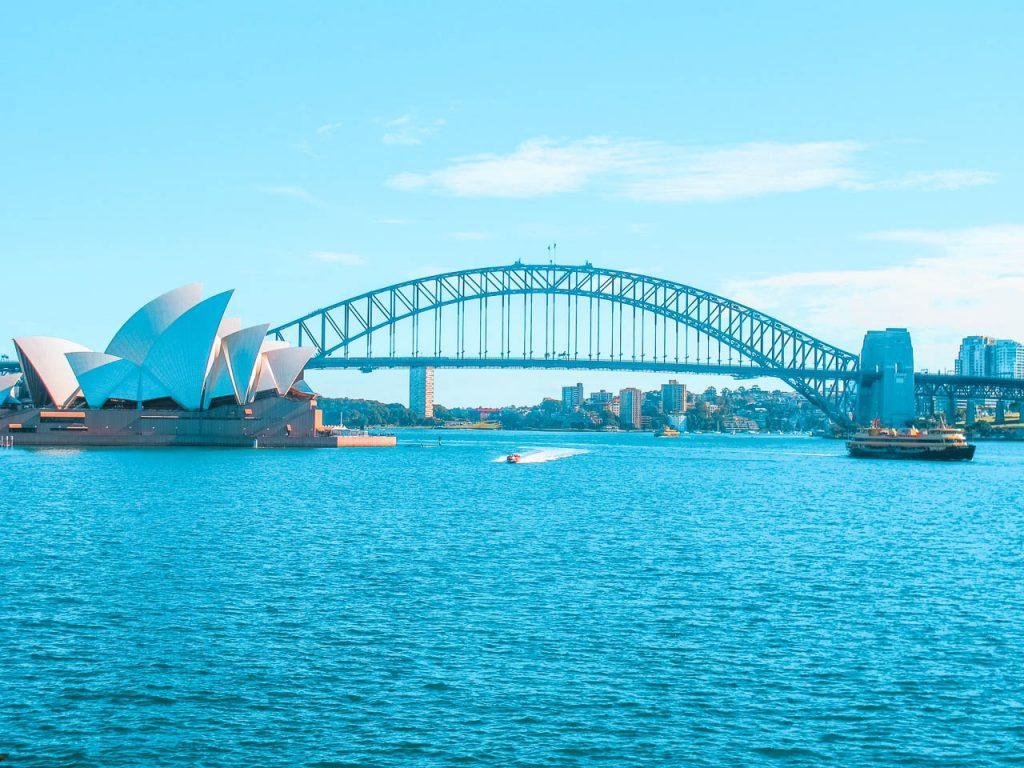 De visita por Sydney