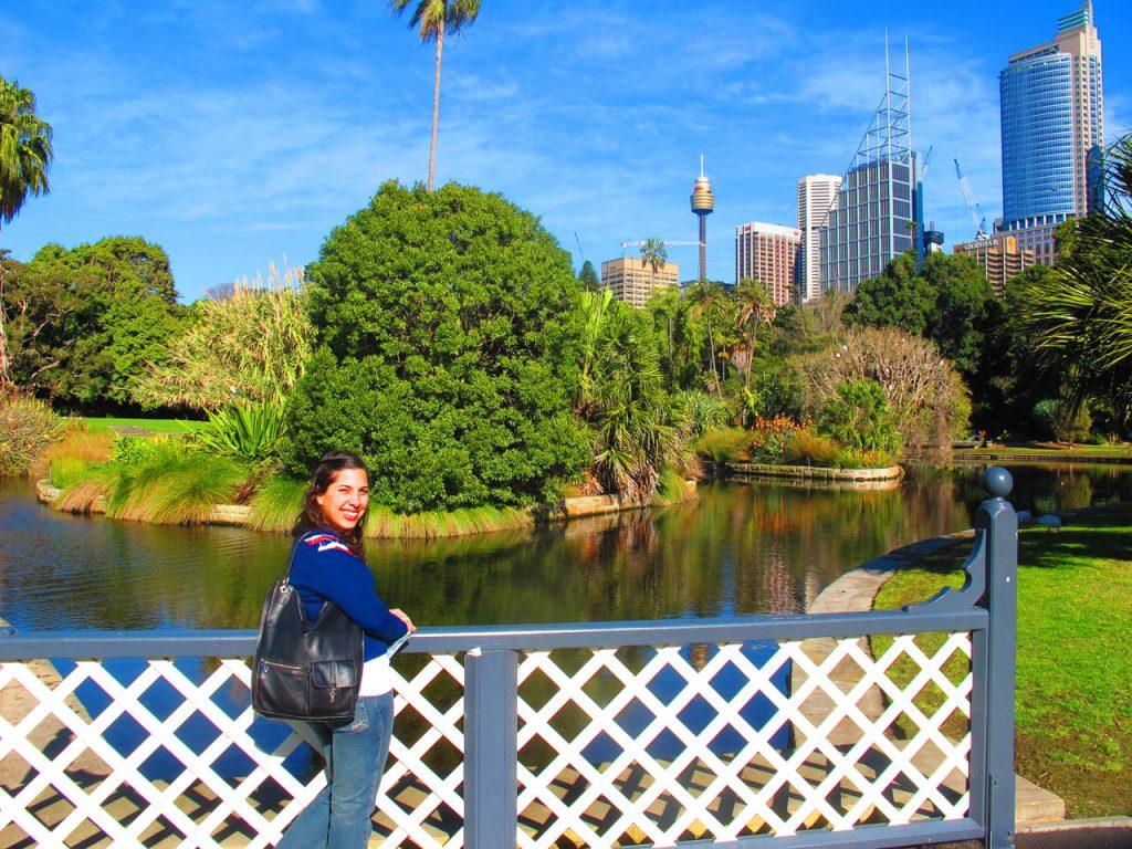 The Botanic Gardens, Sydney