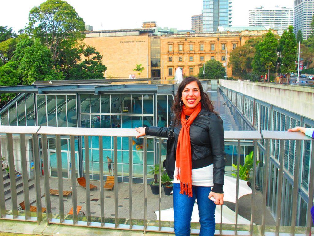 De visita por el Hyde Park de Sydney