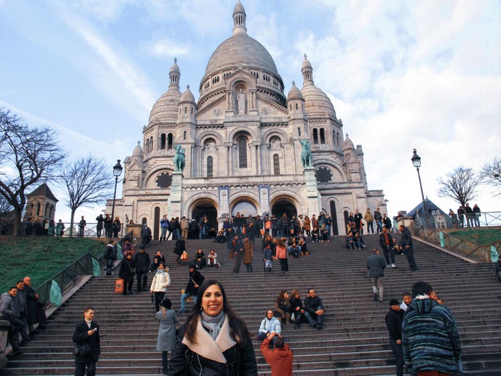 la Basílica de Sacre Coeur, en París