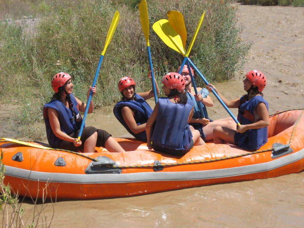 Rafting en Barreal, Argentina