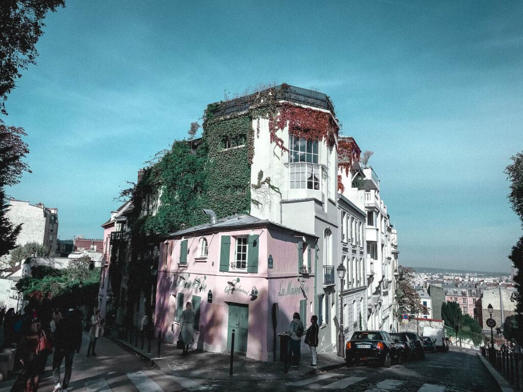 La Maison Rose, Monmartre, Paris