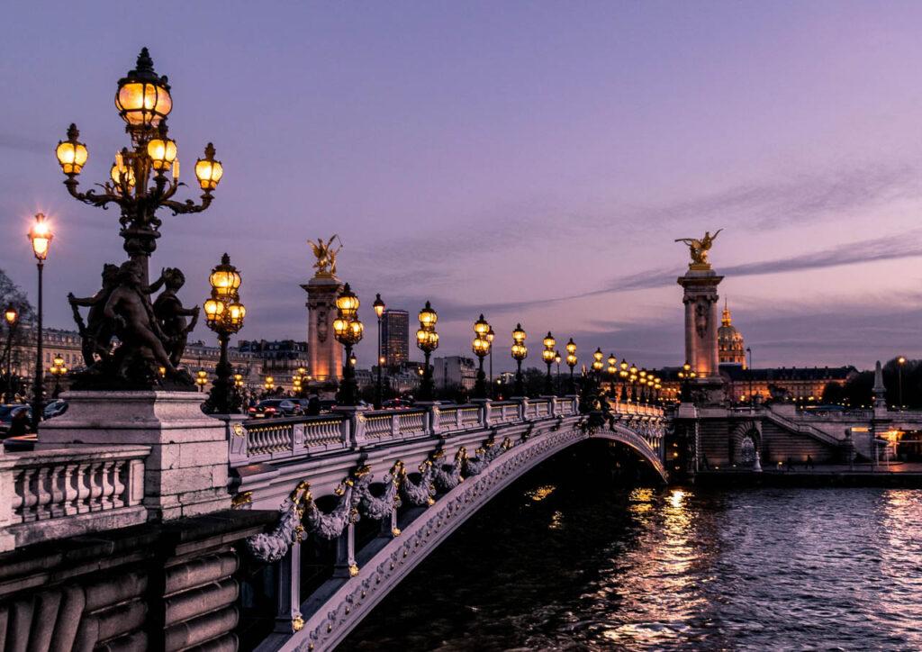 Puente Alexandre III, París