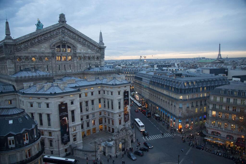 La Opera Garnier.