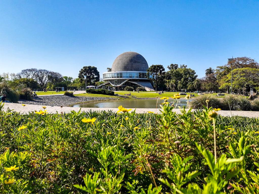 El Planetario de Buenos Aires, un lugar para disfrutar