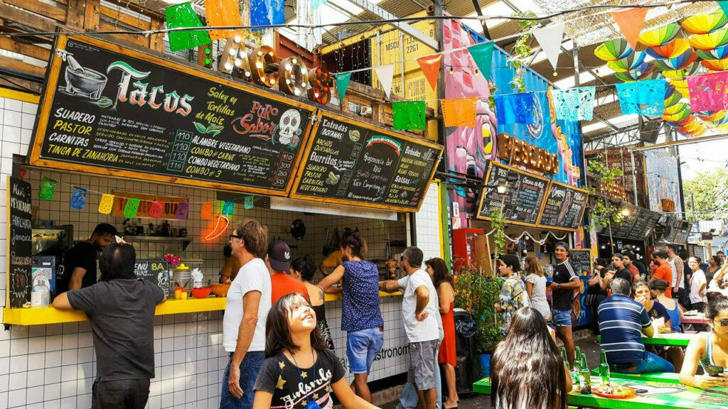GASTRONOMÍA Y MERCADOS EN BUENOS AIRES