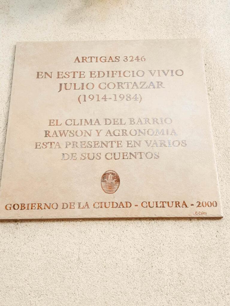 General José Gervasio Artigas 3246, la vivienda de Cortázar en El Barrio Rawson