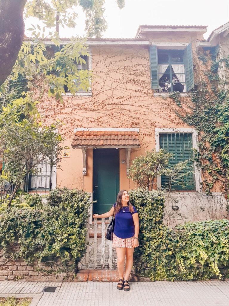 Casas del Barrio Rawson en Agronomía
