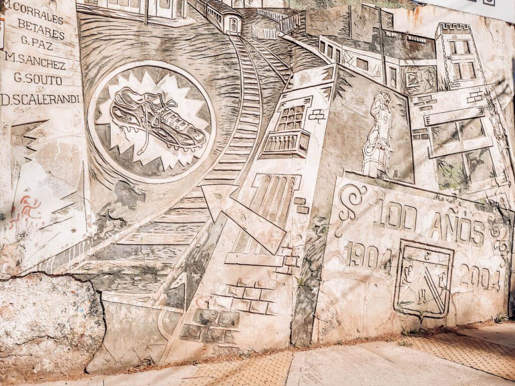 Murales del Club Ferro Carril Oeste