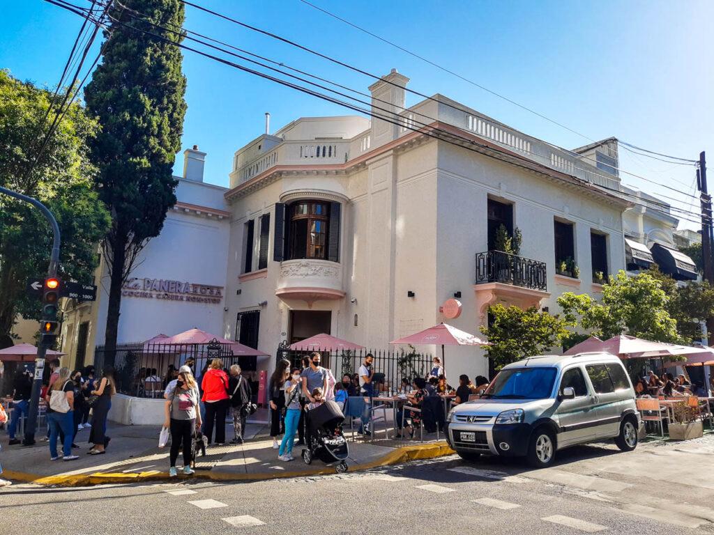 La Panera Rosa en El Barrio Inglés