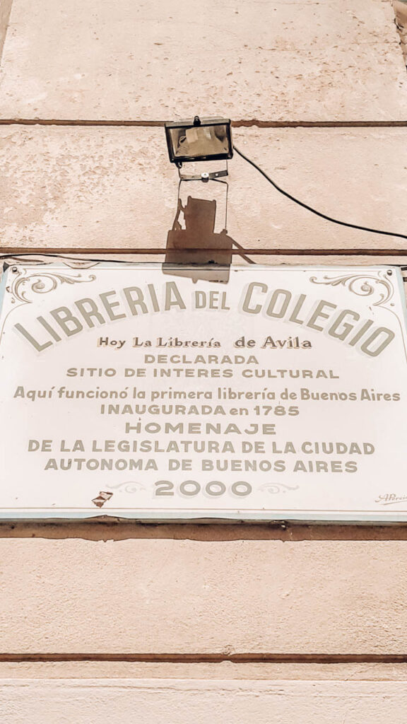 LIBRERIA DE AVILA:TESTIGO DE LA HISTORIA NACIONAL