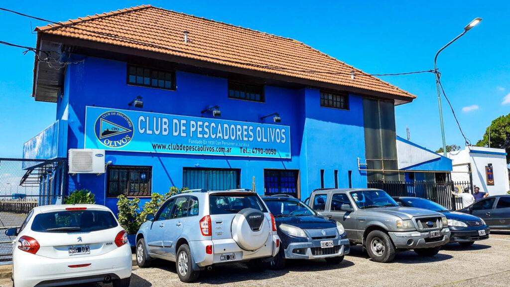 CLUB DE PESCADORES DE OLIVOS. PARTIDO De Vicente LOPEZ