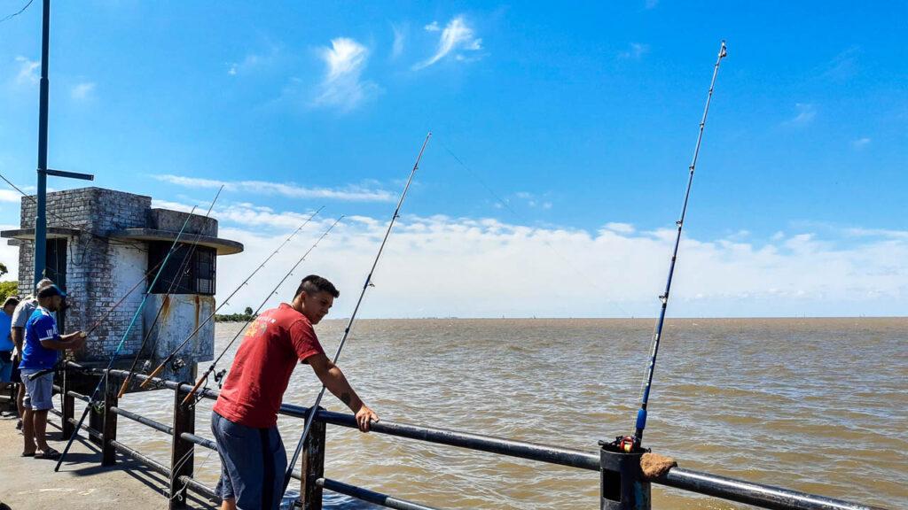 PESCA EN LA RIVERA NORTE DEL RIO DE LA PLATA