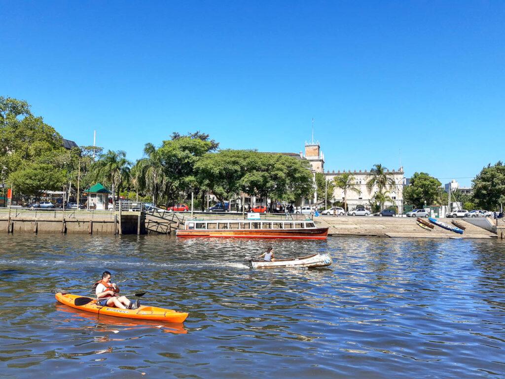 RIOS Y AFLUENTES DEL DELTA DE BUENOS AIRES