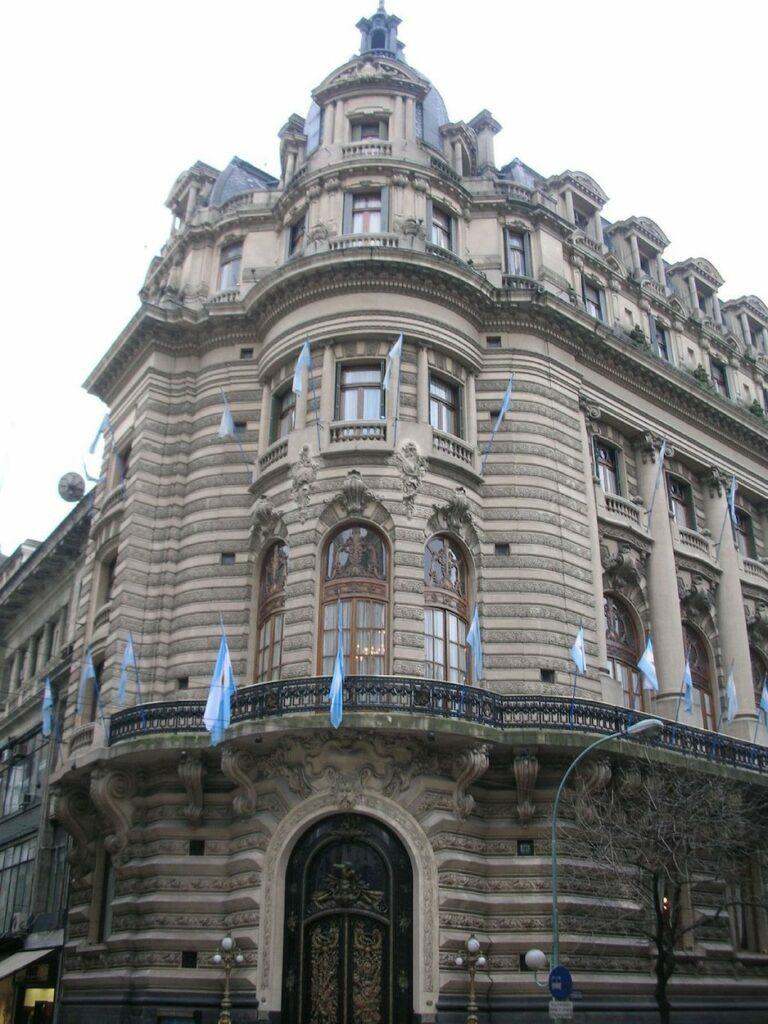PALACIO CENTRO NAVAL DE BUENOS AIRES