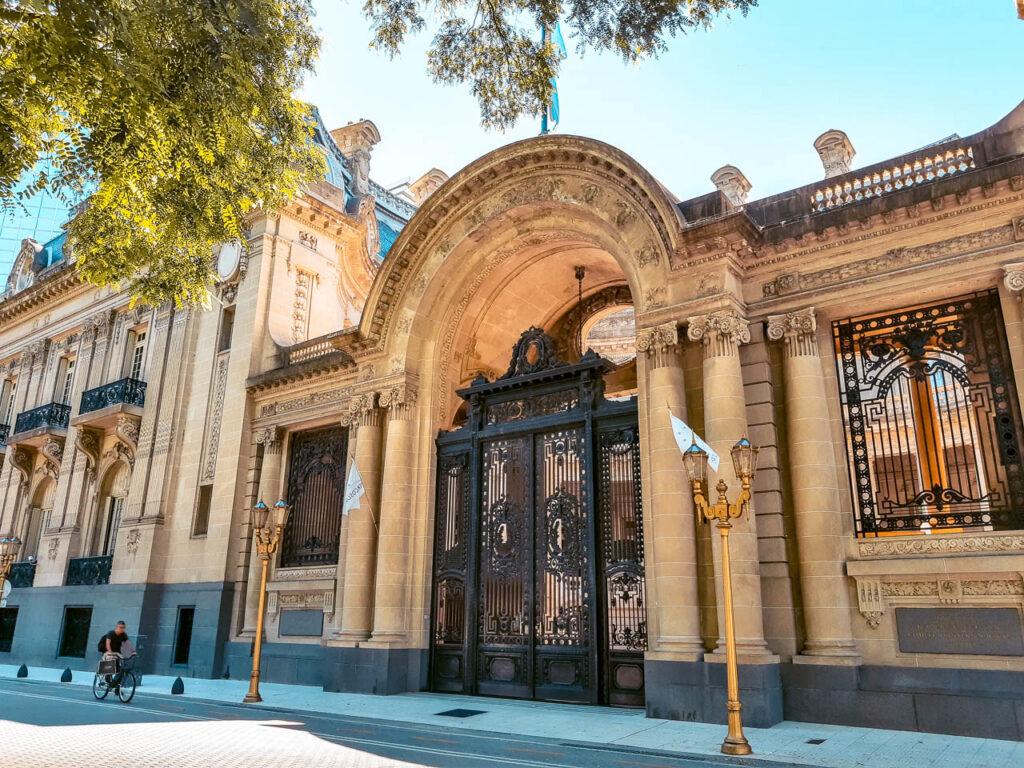 PALACIO SAN MARTIN EN RETIRO, BUENOS AIRES