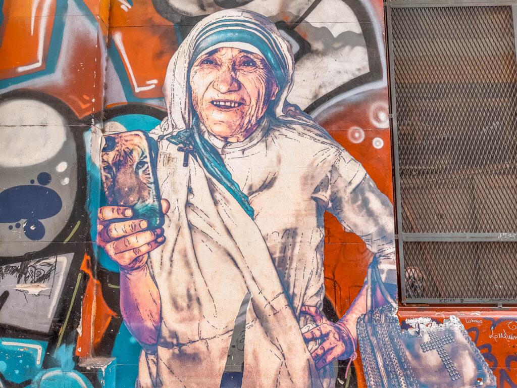 """""""Sor Teresa"""" de Fab Ciraolo (@fabciraolo) - MERCADO DE LAS PULGAS DE COLEGIALES"""