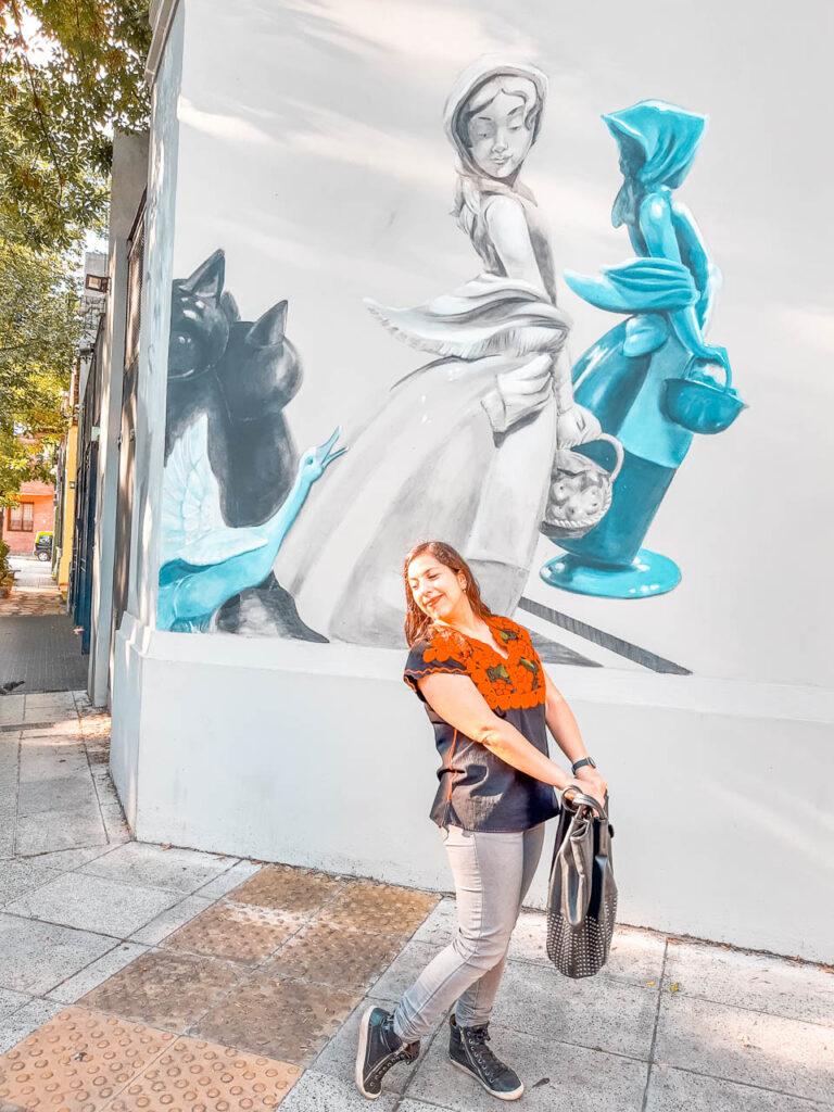 Mural La Piel de los Espejos, Colegiales