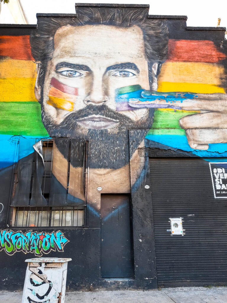 Arte Urbano en Colegiales #
