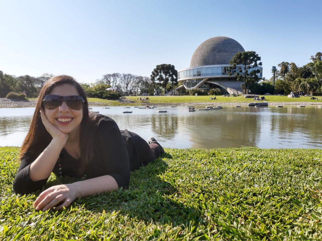 PASEOS AL AIRE LIBRE:Planetario de Buenos Aires