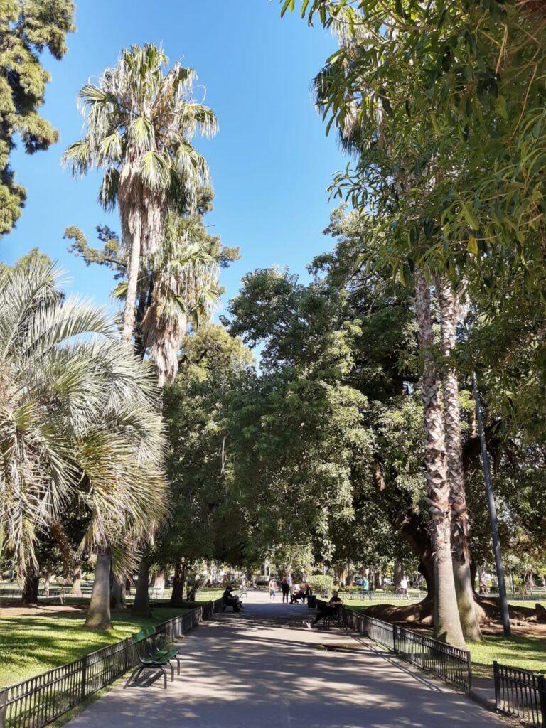 Plaza Arenales, el corazón de Villa Devoto