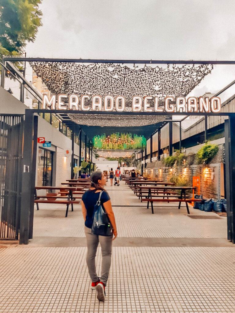 MERCADO BELGRANO EN BUENOS AIRES