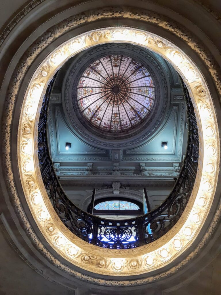 cúpula del palacio Ceci