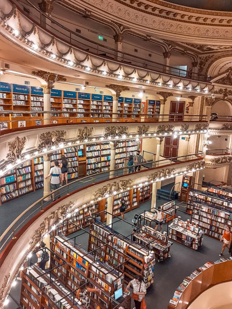 Buenos Aires tiene la librería más linda del mundo