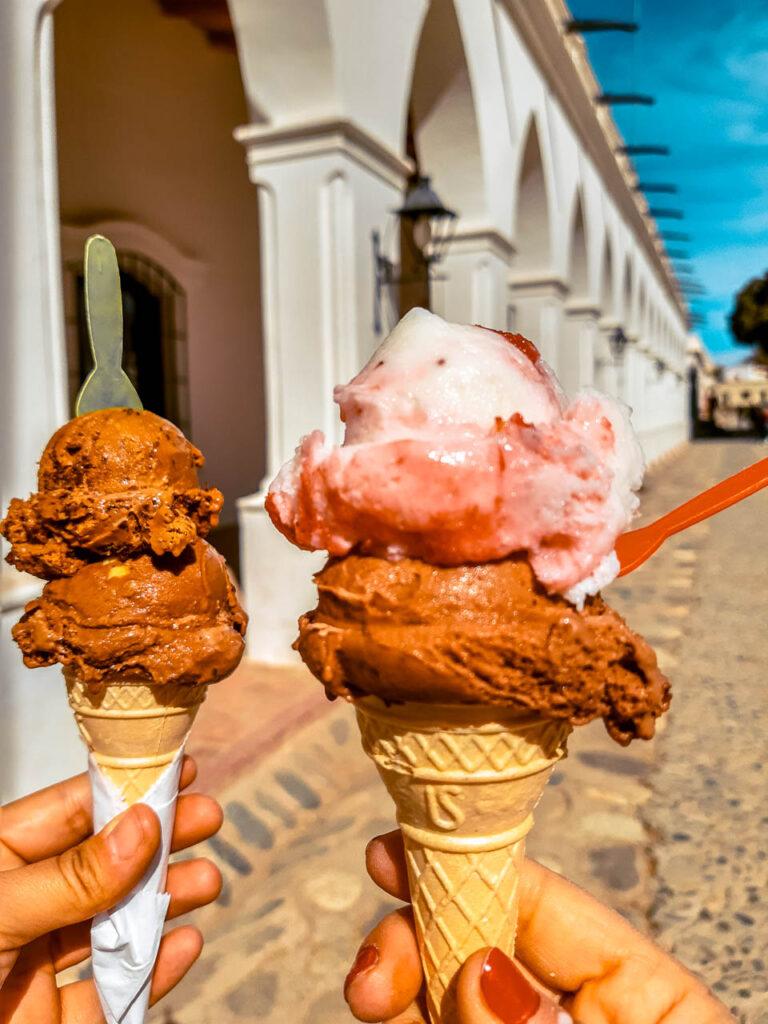 Los helados de Cachi