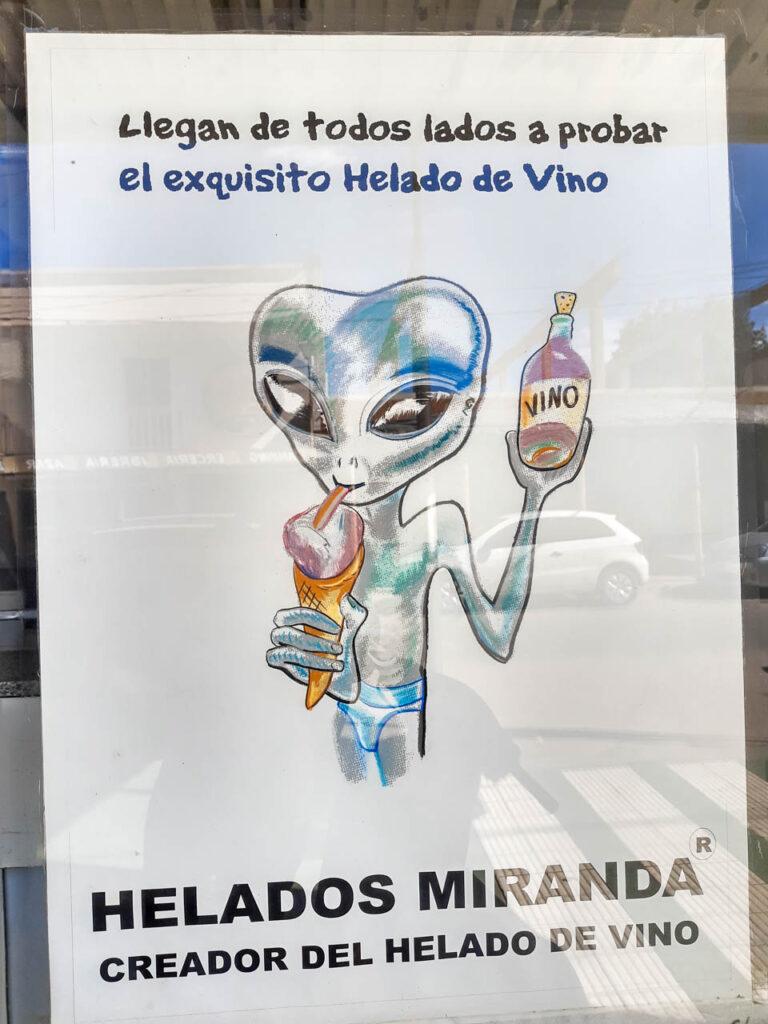HELADO DE VINO EN CAFAYATE