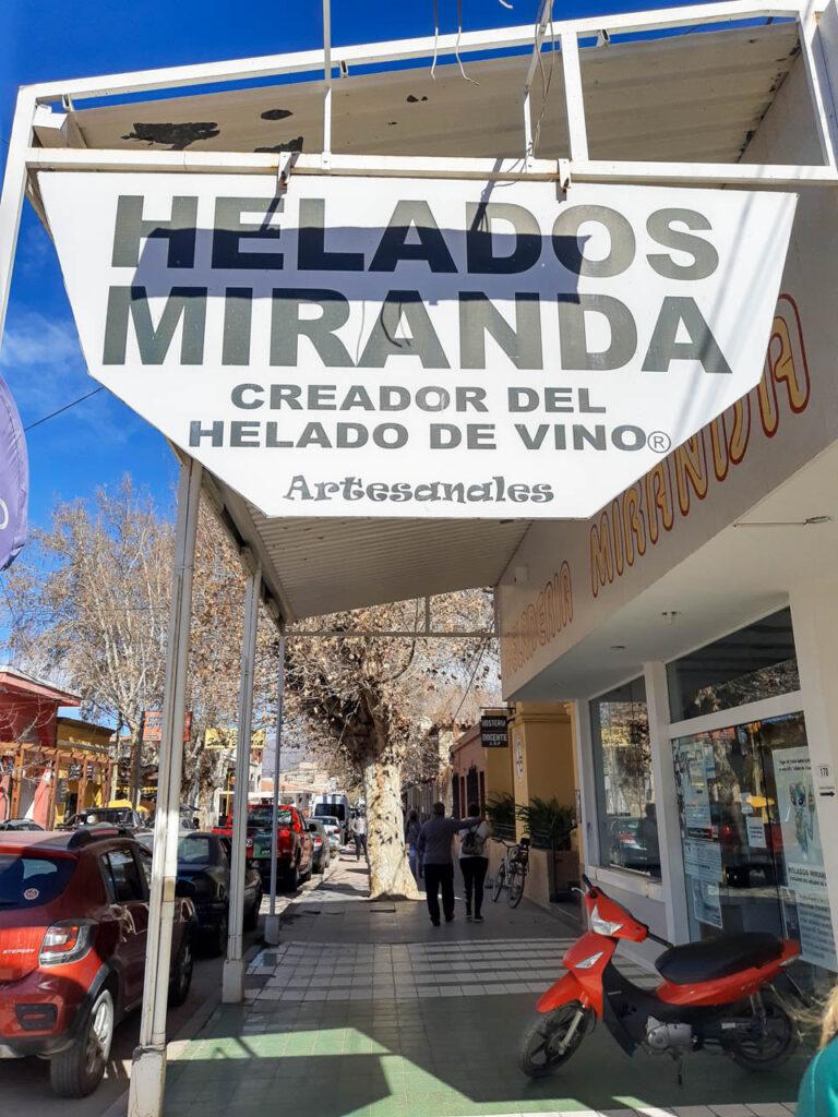 HELADOS MIRANDA, UN LUGAR QUE VER EN CAFAYATE